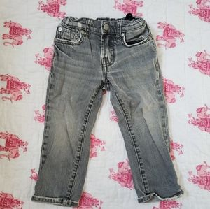 7 for All Mankind distressed denim jeans